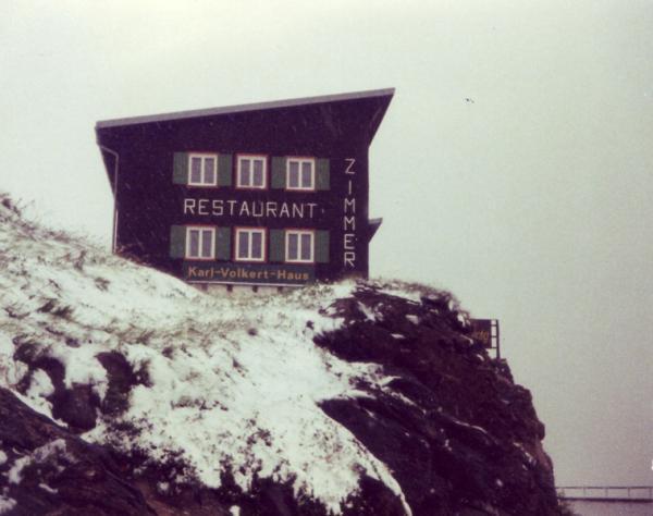 Wettersturz in den Alpen