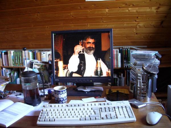 Schreibtischidylle