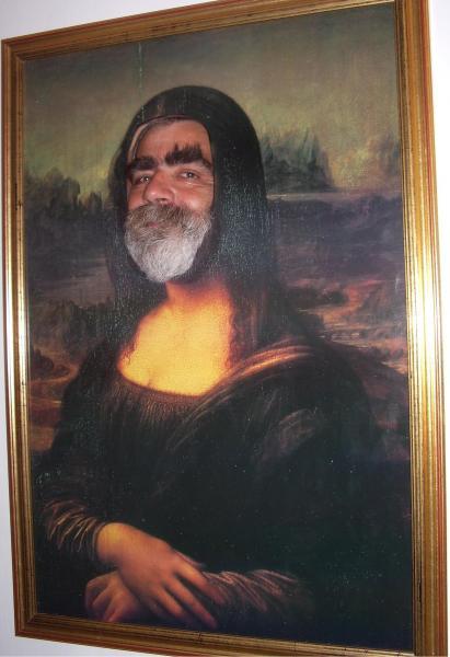 Mona Lisa - leicht verfremdet