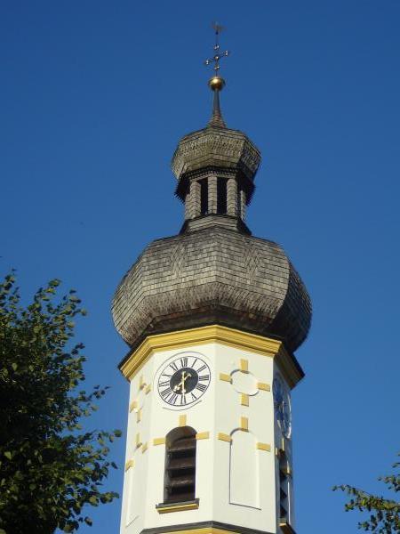 Kirchturm von Rottau