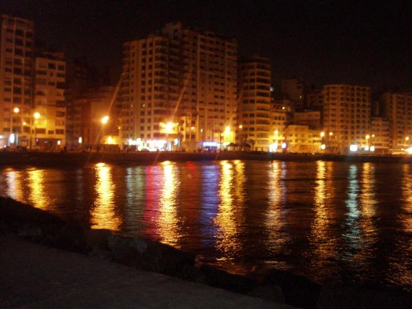 Alexandria bei Nacht