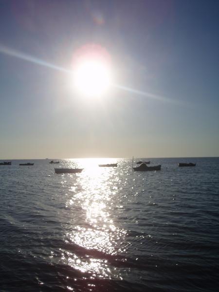 Sonnenaufgang (Tunesien, Djerba)