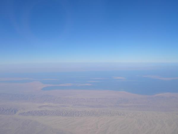 Blick auf eine Wüste