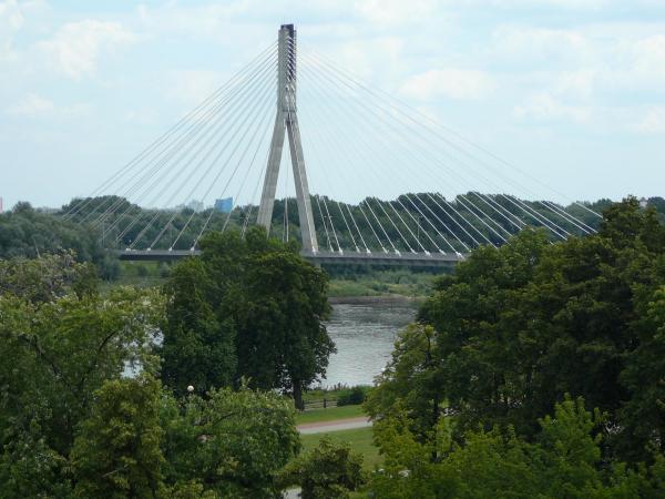 Brücke in Warschau