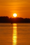 Sonnenuntergang in Rostock