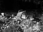 Brückenruine im Tal der Reuss
